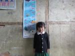 상반기 키재기 만들기 캠페인 완성품을 미얀마 친주(Chin State) 동바학교에 전달한 모습