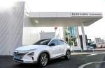 현대자동차가 남동구에 위치한 SK행복충전 논현 충전소에 H 수소충전소를 개소한다