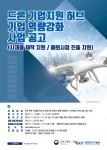 드론기업 역량강화사업 포스터