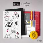 투썸플레이스가 BT21과 협업해 선보인 2020 데일리키트