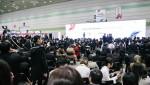 삼성동 코엑스에서 열린 2019 대한민국 지식재산대전의 마지막 일정인 서울 국제발명전시회 시상식이 진행되고 있다