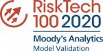 무디스 애널리틱스가 차티스 100대 리스크 관리 기술 기업의 모델 검증 부문 1위에 선정되었다