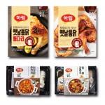 하림 옛날통닭, 옛날통닭 통다리, 궁중식찜닭, 춘천식닭갈비