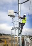 SK텔레콤과 컨소시엄을 구성한 사업자들이 대구선 LTE-R 구축사업을 진행하고 있다
