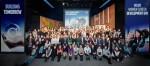 볼보그룹코리아가 여성 임직원 100여명을 대상으로 여성 경력 개발의 날(Women Career Development Day) 워크숍을 개최한 후 기념사진을 촬영하고 있다