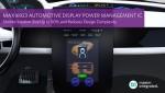 맥심이 자동차 디스플레이 전력관리 IC MAX16923을 출시했다