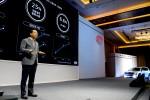 박한우 기아차 사장이 CEO 인베스터 데이에서 발표를 하고 있다