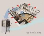 음압 공기처리기(ATU-1700H) 음압환기시스템 모식도