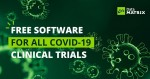 데이터매트릭스가 올해 모든 코로나19 임상시험에 '전자 데이터 수집 프로그램'을 무상 제공한다