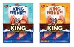 동원F&B가 진짜 새우 넣은 프리미엄 맛살 더킹 쉬림프 2종을 출시했다