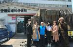 비고라이브와 유튜버 정선호가 '굿윌 스토어 수원점'에 코로나19 물품 기부를 진행했다. 사진은 왼쪽부터 BJ 수노, 굿윌 스토어 관계자(2인), BJ 다빈스, 박근미 여사(정선호님 어머니), 유튜버 정선호