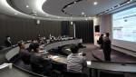 DRB가 직책자 대상으로 직급 체계 전환 워크숍을 실시하고 있다