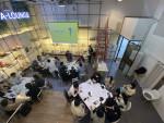 가로수길 에이라운지에서 열린 예술인 네트워크 행사 'bridging Arts' 현장