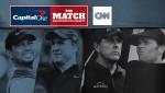 CNN 인터내셔널이 타이거 우즈와 필 미켈슨의 맞대결인 '캐피탈 원 더 매치: 챔피언스 포 채리티'를 생중계한다