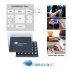 씨러스 로직의 CS40L25 부스트 햅틱 드라이버 제품군은 공명 인지형으로 고성능 LRA와 보이스 코일 모터를 구동해 모바일, 자동차, PC, 웨어러블 및 게임/VR과 같은 애플리케이션에 향상된 사용자 경험을 제공한다