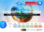 WURI(World's Universities with Real Impact)의 첫 랭킹이 스위스와 한국에서 동시에 발표된다