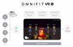 옴니씨앤에스가 비대면 VR 그룹상담 솔루션 '옴니핏 VR-M'을 출시했다