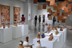 한국천연염색박물관에서 개최되고 있는 '내안에 제주전'