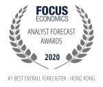 무디스 애널리틱스가 2020 포커스이코노믹스 애널리스트 포캐스트 어워즈의 14개 국제부문에서 1위를 차지했다
