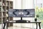삼성전자가 역대 최고 성능 게이밍 모니터 오디세이 G9를 국내 출시했다