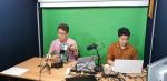 임베디드SW경진대회 사무국에서 온라인 기술지원교육 영상을 촬영하고 있다