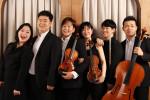 왼쪽부터 심은별 피아니스트, 김상헌 피아니스트, 이주미 바이올리니스트, 강아연 바이올리니스트, 윤승호 플루티스트, 김어령 첼리스트