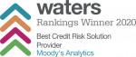 무디스 애널리틱스가 워터스 랭킹 최우수 신용 리스크 솔루션 제공업체에 선정됐다