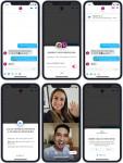 글로벌 소셜 디스커버리 앱 틴더, 영상 채팅 기능 활성화 예시