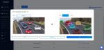 CLICK AI 솔루션을 통해 자동으로 생성된 딥러닝 기반의 물체인식 인공지능이 예측한 자동차 이미지