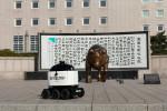 건국대학교 서울캠퍼스에서 진행한 실외 자율주행 배달로봇 '딜리드라이브' 테스트