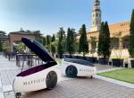 LG전자의 호텔 실외 배송로봇