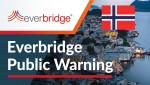 노르웨이 보건국이 코로나19 리스크 경감을 위해 에버브리지의 공공경보 솔루션을 도입했다