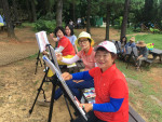 '실버와 뜨거운 청년의 기억'에 참여, 활동하고 있는 어르신들