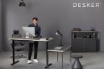 데스커가 브랜드 론칭 4년 만의 첫 전속 모델로 배우 남주혁을 선정했다
