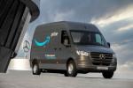 아마존이 메르세데스-벤츠 전기차 밴 1800여대를 추가 구매해 유럽에서 배송차로 활용할 계획이다