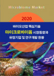한국산업마케팅연구소 '2020 바이오산업 핵심기술 - 마이크로바이옴 시장동향과 유망기업 및 연구개발 현황' 보고서 표지