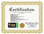 FIDO2 인증서