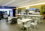 건국대학교가 도서관에 장애우 사업장을 신규 조성했다