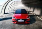 현대자동차가 쏘나타 N 라인 이미지를 공개했다