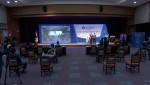오프라인 행사를 그대로 진행한 언택트 발대식 행사의 한 장면