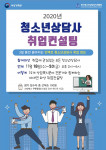 2020 청소년상담사 취업컨설팅 웹포스터