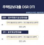 주택담보대출 DSR, DTI 계산 방법