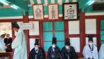 수은 강항 선생을 기리는 추향제가 10월 28일 내산서원 용계사에서 개최됐다