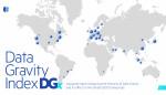 디지털 리얼티가 데이터 중력 지표 연구결과 보고서를 발표했다