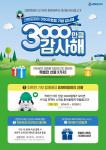 크린토피아가 실시하는 '3000만큼 감사해' 이벤트 안내 포스터