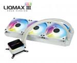 에너맥스 CPU 수냉쿨러 LIQMAX III ARGB 360 화이트