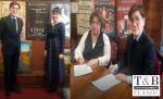티앤비엔터테인먼트가 러시아 옴스크 오페라하우스와 MOU를 체결했다
