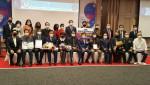 도전한국인본부는 11월11일 오후 서울 삼성동 코엑스 컨퍼런스 E룸(3층)에서 '대한민국 명품·명인인증 시상식'을 개최했다. 오른쪽에서 6번째가 조영관 도전한국인본부 대표
