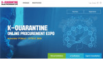 Public Procurement Service and Korea Health Industry Development Institute will host 'K-Quarantine Online Procurement Expo' in a virtual space from November 9th to 13th. This event is prepared to introduce Korea's successful cases of K-quarantine in the COVID-19 crisis and to support domestic companies to explore overseas markets. 112 domestic companies related to K-quarantine will participate in this event and Virtual Exhibition, Export Consultation and e-Conference will be progressed non-face-to-face online for visitors to meet the procurement expo from all over the world regardless of time and place