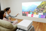 LG전자가 LG 시네빔 레이저 4K 프로젝터 신제품을 출시했다